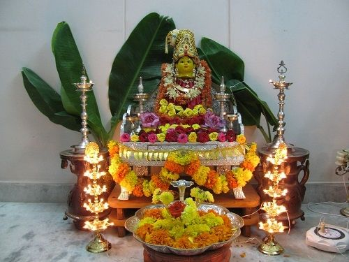 Everything you want to know about Varalakshmi Pooja Vratam - we have put together for you a complete Varalakshmi pooja vratham resource; it aims at answering all your questions and helps you perform the pooja just the way your mother did.