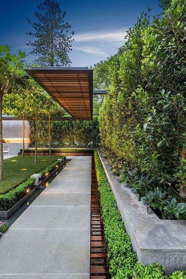 35 Modern Landscape Design Ideas For Minimalist Courtyard Garden