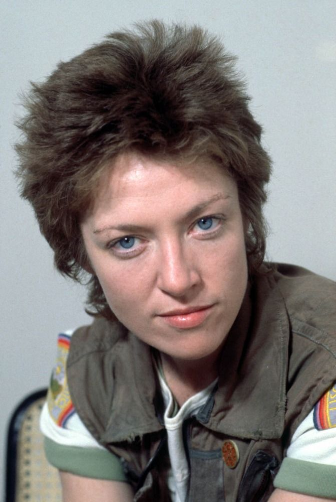 Veronica Cartwright in Alien (1979).  She is the sister of Angela Cartwright