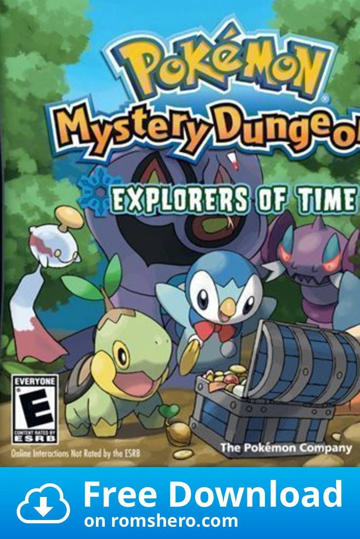 Download Pokemon Mystery Dungeon Explorers Of Time