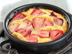 Clafoutis de fraisies