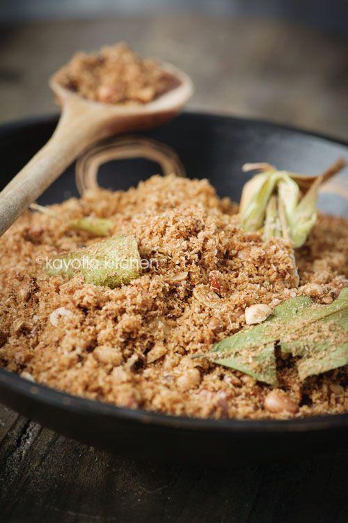 Seroendeng - Homemade Indonesian Seasoned Peanut and Coconut Mix Recipe