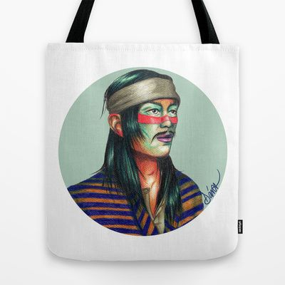 CHINO CUDEIRO Tote Bag by Coco Dávez - $22.00