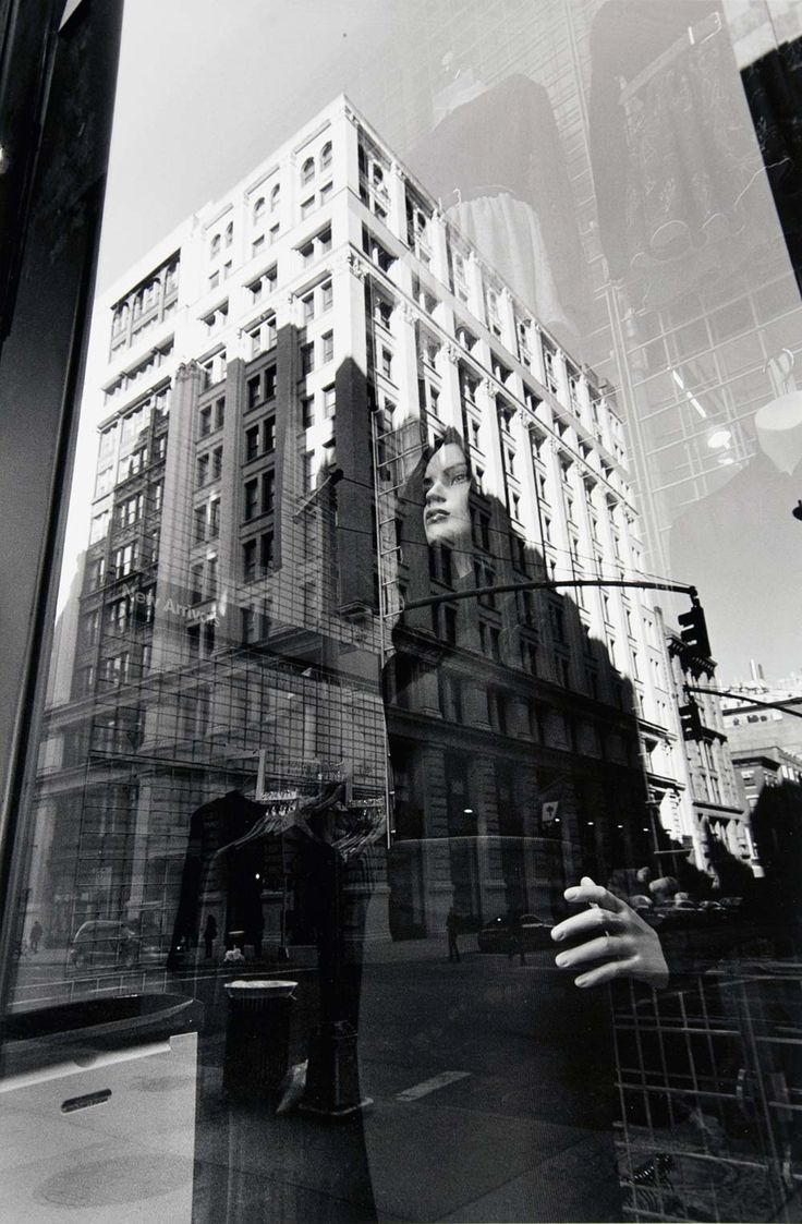 """1980-01 New York City"" is a 2011 photograph from Lee Friedlander's ""Mannequin"" series.(COURTESY OF ANDREW SMITH GALLERY) http://www.abqjournal.com/274896/north/silent-witnesses.html"