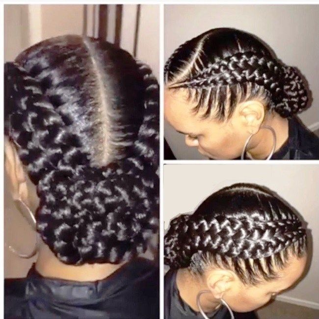 French Braid Hairstyles For Black Hair French Braid Hairstyles Two Braid Hairstyles Braids For Black Hair