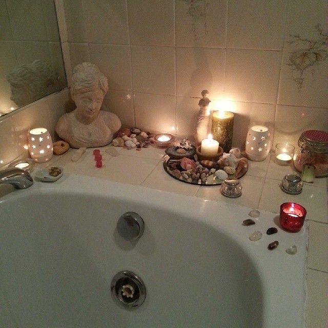 Bathroom altar%u2013every home I%u2019ve ever had has bathroom kitchen main room and bedroom altars or shrines%u2013my space is sacred space