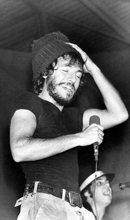 Bruce Springsteen.   Baby Bruce,  almost as awesome as today's Bruce.   .    .    .    .    .    (thesamiposts)