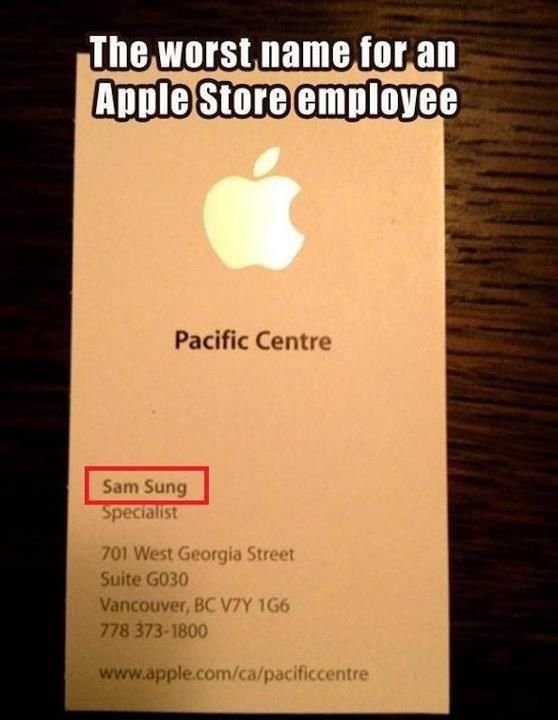 Oops... we have Sam Sung working at Apple... talk about stealing ideas and shiiiitttt