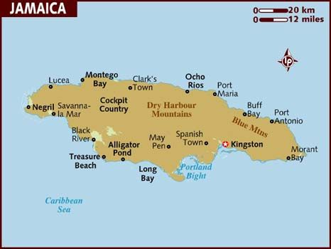 Best Jamaican Leaders Images On Pinterest Jamaica History - Jamaica political map 1968