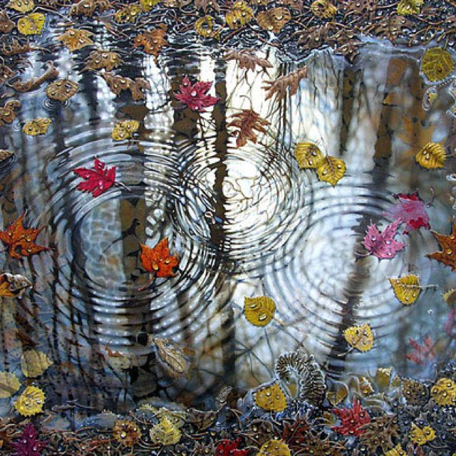 Sometimes I think we are ripples upon ripples upon ripples, all part of an energetic wave pattern. I guess that would make sense then, what one does to oneself or the one next to it, affects every individual ripple, as well as the pattern.    I suppose we proceed cautiously!♥♥