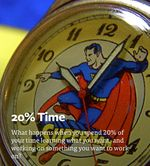Article by AJ Juliani:  The Research Behind 20% Time.  Modeled after Google's policy of dedicating time during the workweek to interest projects.  Great article
