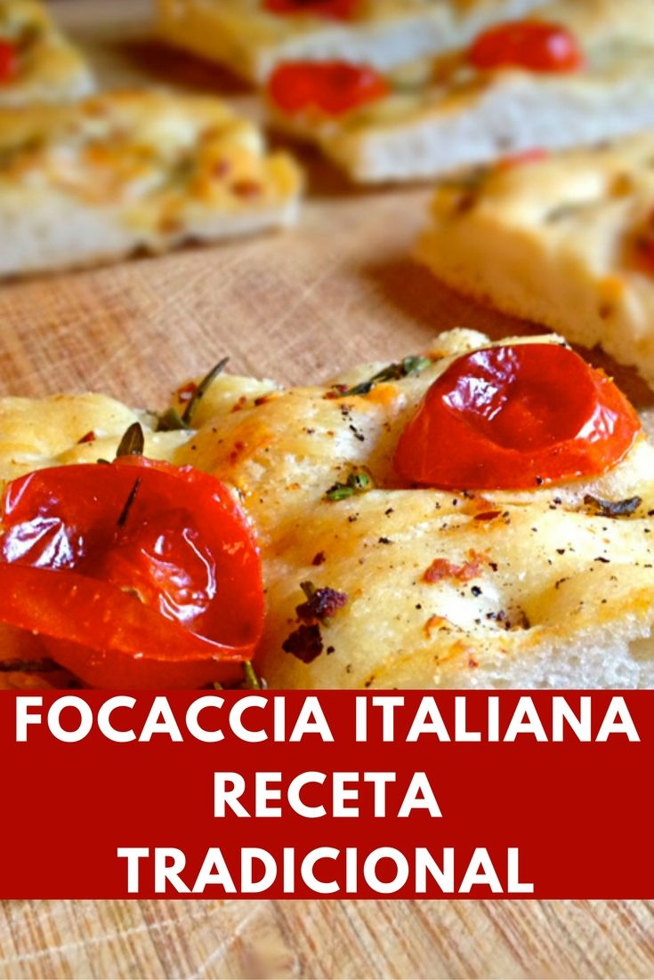 focaccia receta Focaccia Recipe, Pan Bread, Dough Recipe, Italian Recipes, Tapas, Food Videos, Food To Make, Meal Prep, Quiche