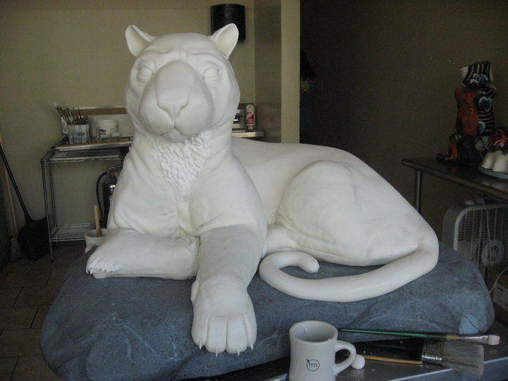 Tiger cake process