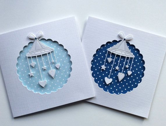 New Baby Congratulations Card Baby Boy by BrindavanCrafts on Etsy