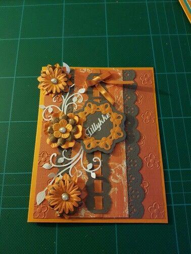 Orange kort