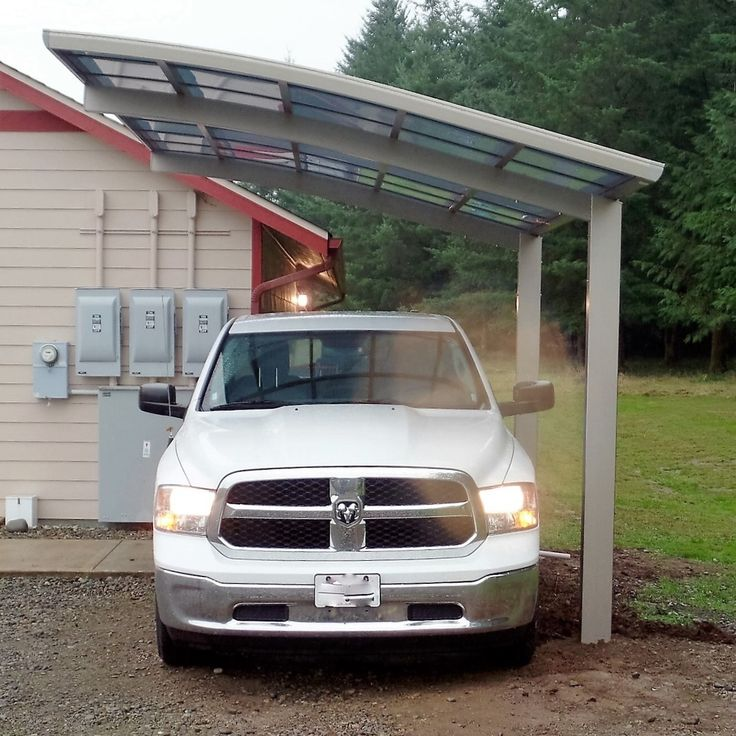 Modern Enclosed Carport : Best ideas about modern carport on pinterest