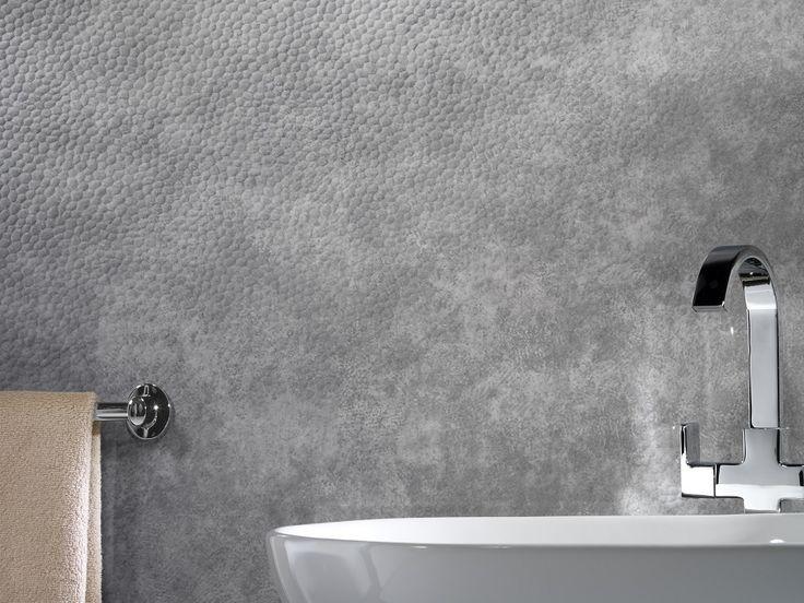 Order free samples of Silver Bronx - Showerwall waterproof bathroom wall panelling