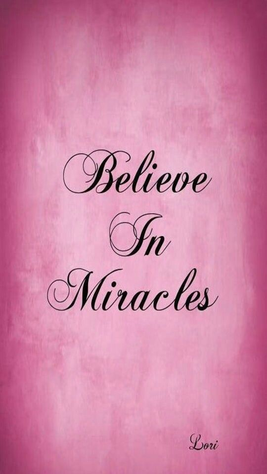 Best 25+ Believe in miracles ideas on Pinterest | Quotes on ...