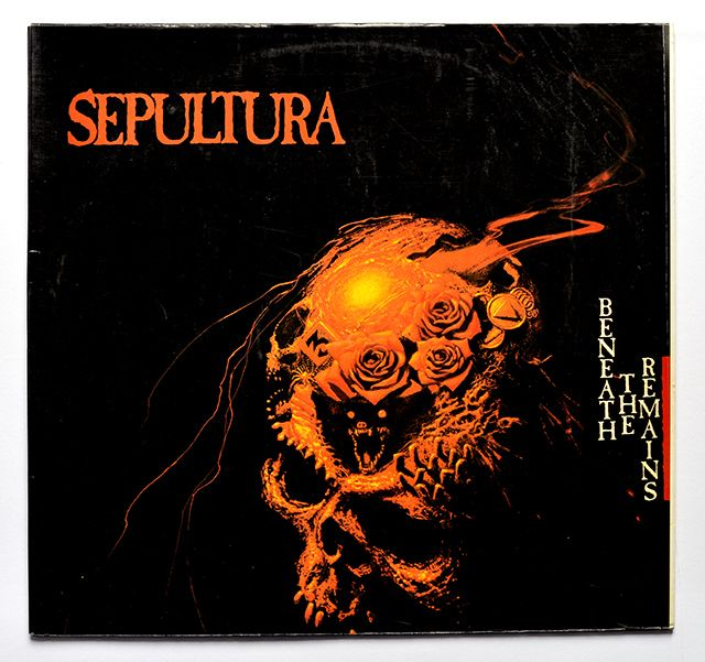 Album Front cover Photo of SEPULTURA - Beneath the Remains ...