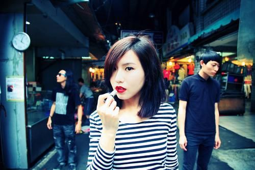 My Skin Against Your Skin is a Taiwanese post-punk band that was formed in 2010 with 4 members, named Andrea Huang(vocalist),Michii(guitar),A - Lu(bass guitar) and Wolf(drums).