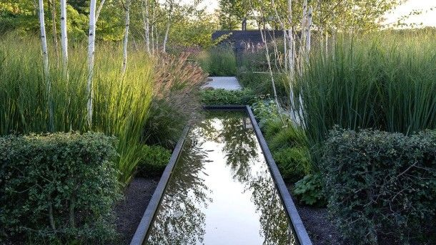 Stein, Wasser, Pflanzen: für Peter Berg eine ideale Kombination