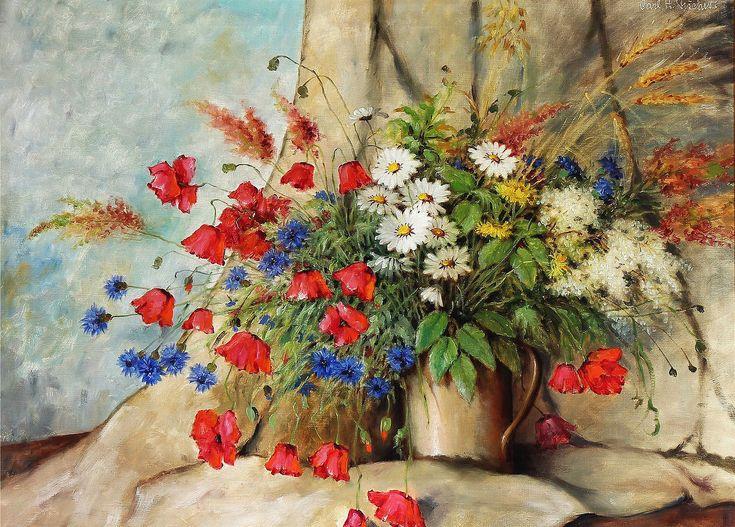 Мобильный LiveInternet Полевые цветы... Carl Holger Fischer | Golyb-ka - Дневник…