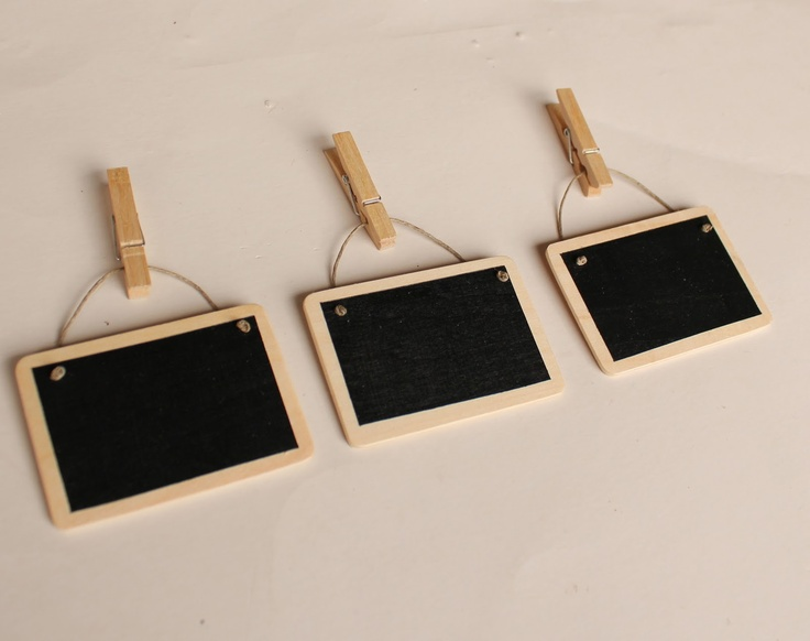 Mini black boards