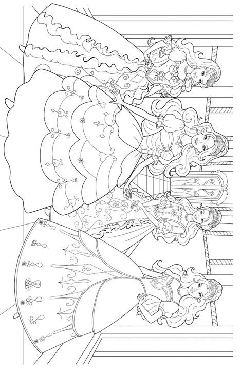 236 best barbie coloring book images on Pinterest Barbie coloring - copy coloring pages barbie ballerina