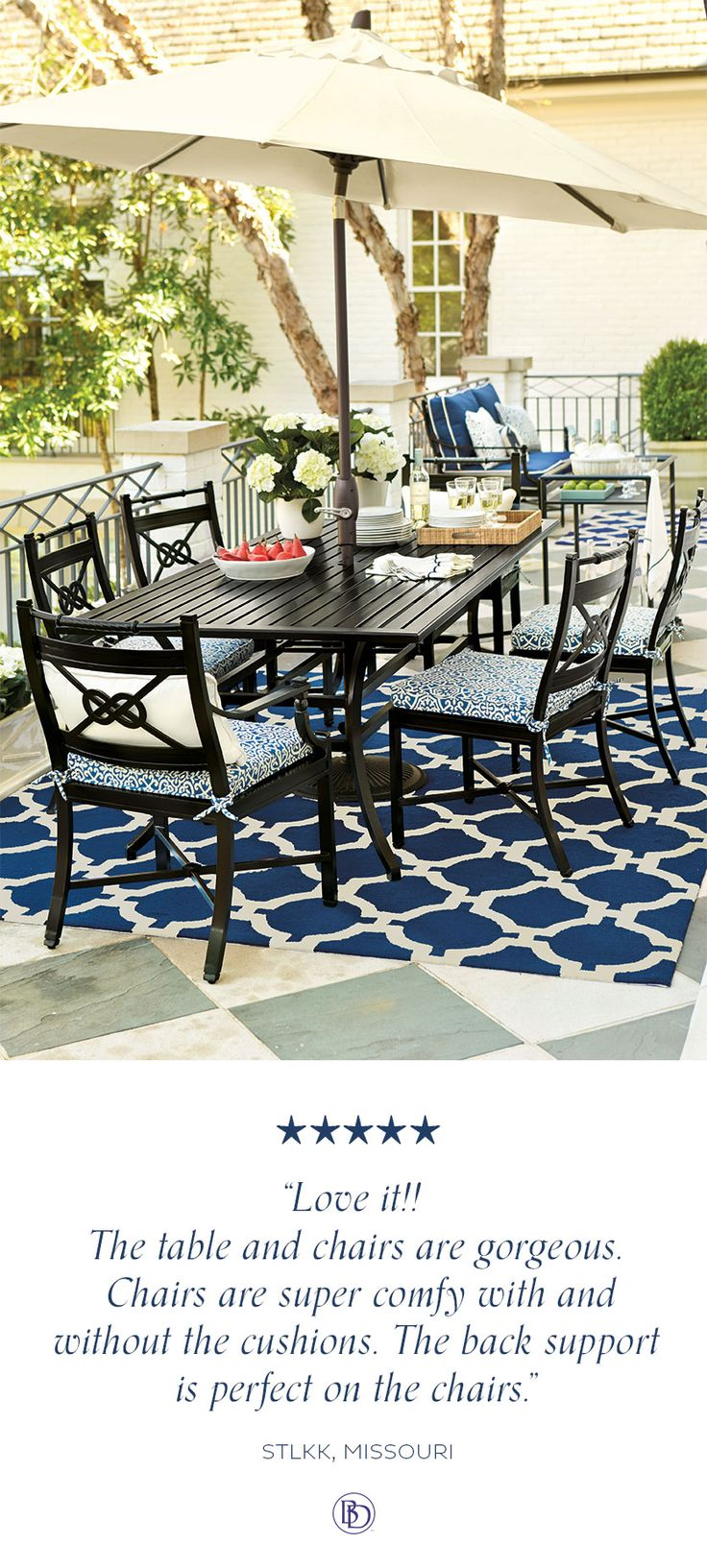 Deck amp patio furniture are often neglected when hiring a pressure - Newport 7 Piece Dining Set