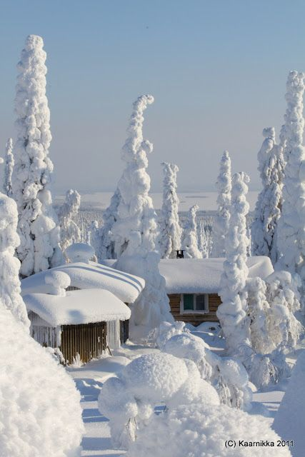 Finland winter get away::