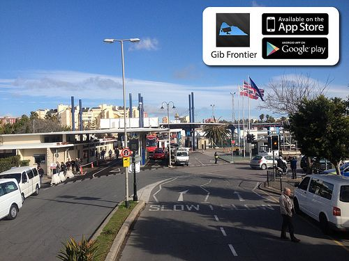 Gibraltar/Spain border. Check out Gib Frontier app for live information: https://www.facebook.com/pages/Gibraltar-Frontier/262846427175217