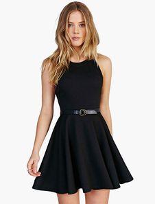 Pequeño vestido negro de fiesta