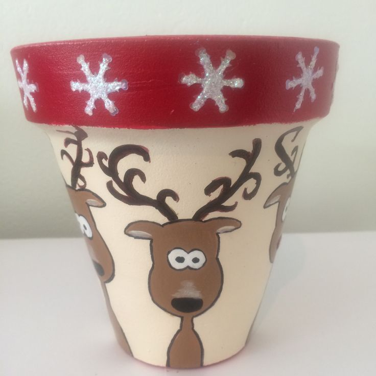 Maceta navideña Christmas Pot