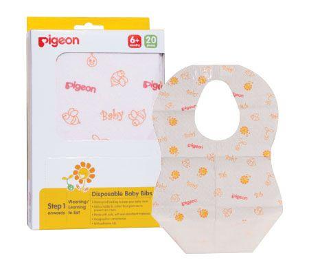 Pigeon Disposable Baby Bib 20 Pce