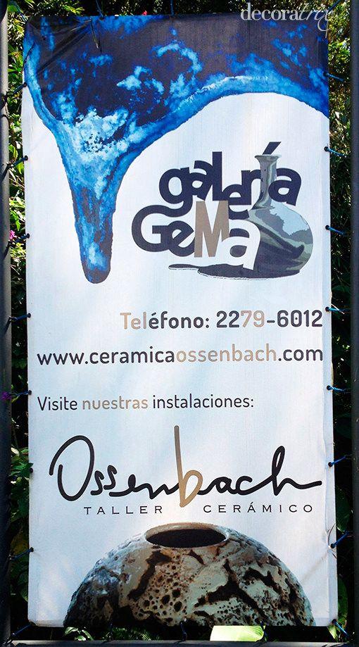 Piezas de cerámica orgánica de Gema Ossencach