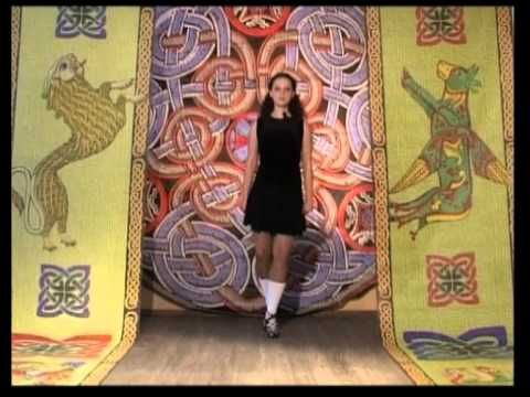Разучиваем ирландский танец! www.evrikafilm.ru - YouTube
