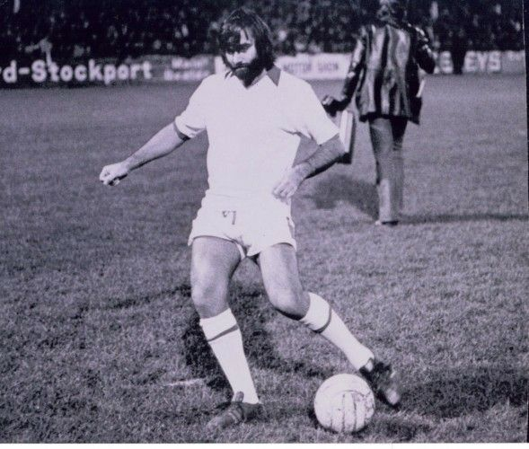 George Best Stockport County