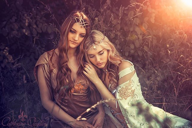 Model left: Miss Natalina Model right: @isarinabelle Fashion: @_ivy.design_ . . . #fantasy #elfs #forest #dream #dreamy #love #girls #elfen #fantasyfashion #ivydesign #catherinecayden #sinnlich #sommer #fantasylove #photooftheday #cosplay #cosplaymodels #magic