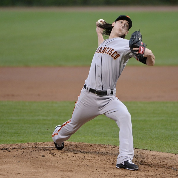 San Fransico Giants v Chicago Cubs