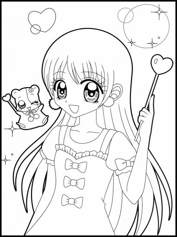 Pin By Ryann On Anime Coloring Pages In 2020 Coloring Pages For Kids Anime Art Girl Coloring Books