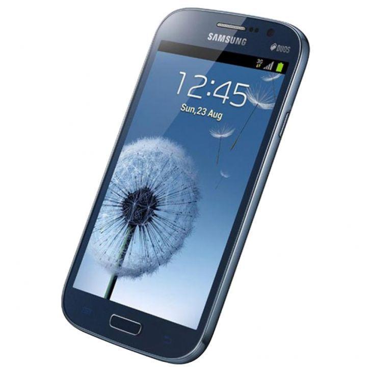 Samsung  Galaxy Grand i9082, 8 GB in metallic blue. http://www.zocko.com/z/JHldn