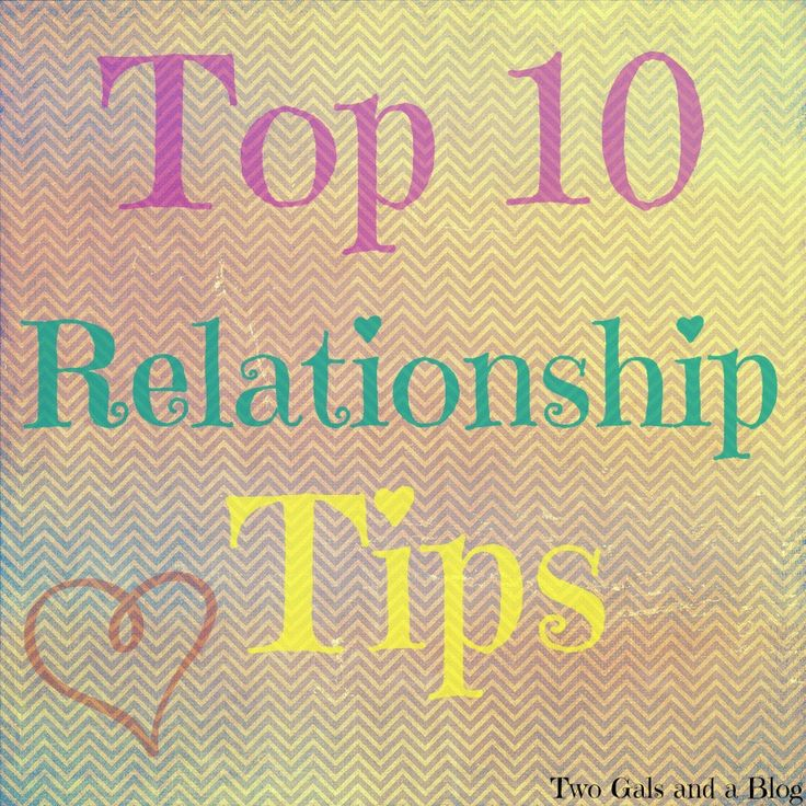 top 5 relationship tips