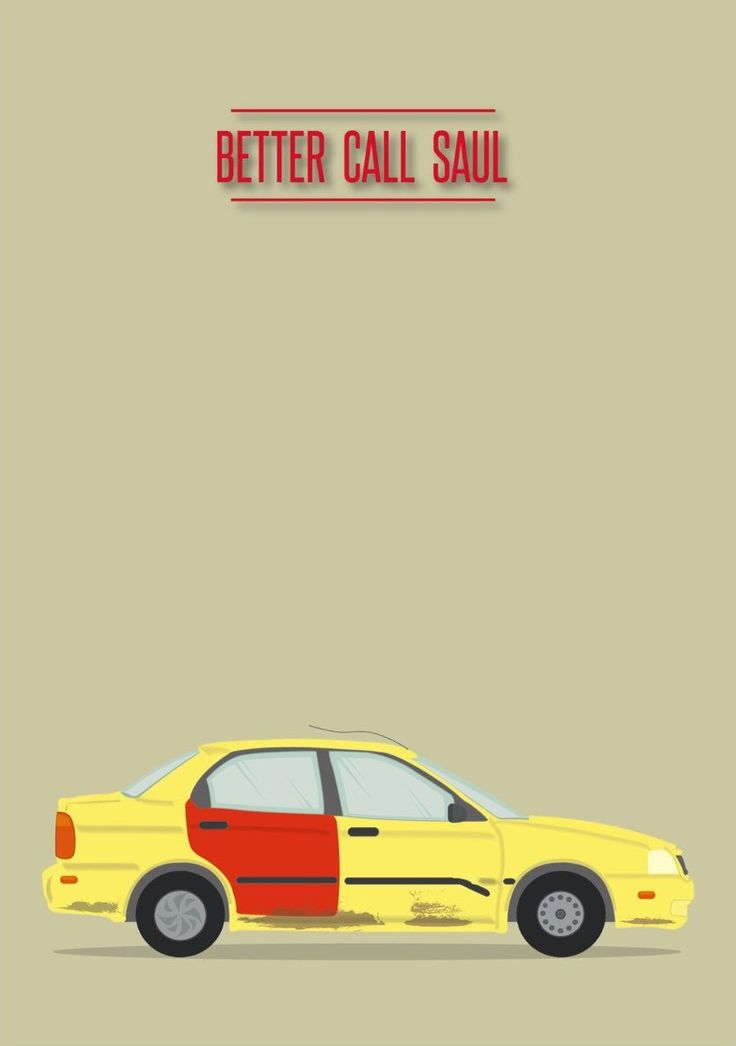 Better Call Saul (2015–) ~ Minimal TV Series Poster by David Peacock #amusementphile