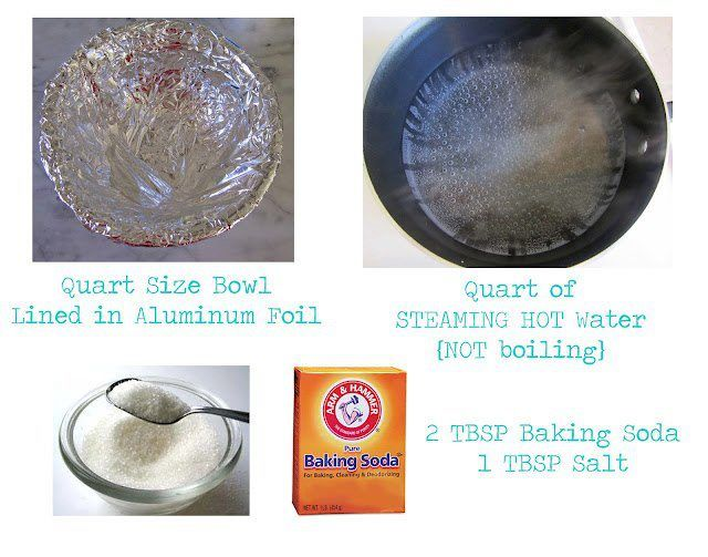 How to Clean Silver Jewelry    Leave it in the water for ten minutes