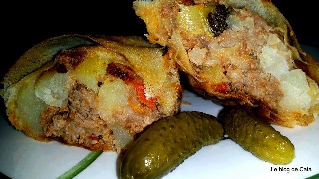 Le blog de Cata: Byrek à la viande, courgette et pommes de terre