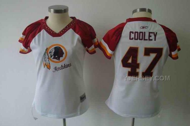 http://www.yjersey.com/redskins-47-cooley-white-field-flirt-women-jerseys.html REDSKINS 47 COOLEY WHITE FIELD FLIRT WOMEN JERSEYS Only 34.00€ , Free Shipping!