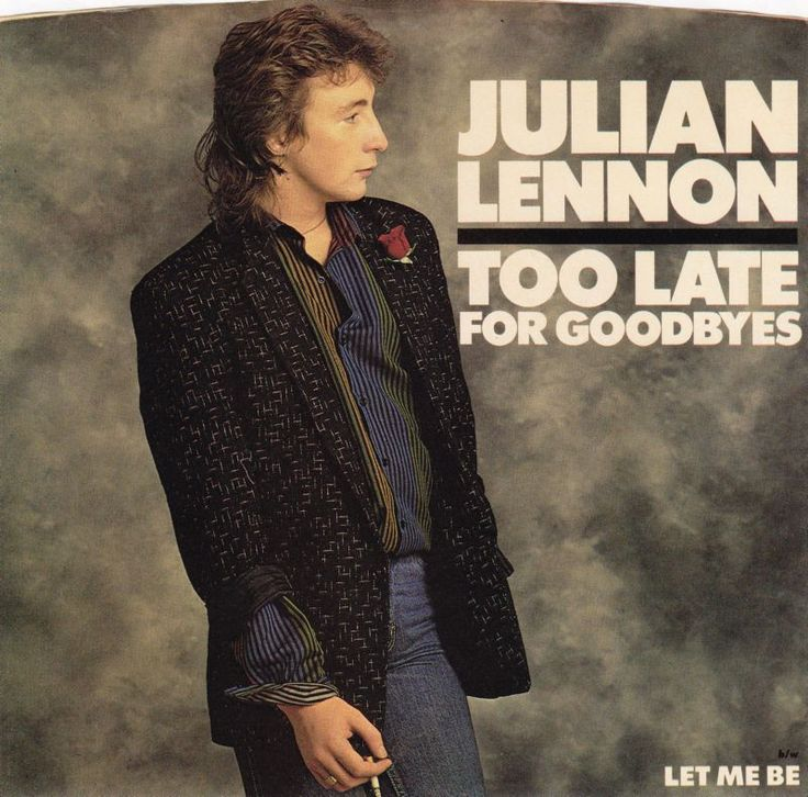 Julian Lennon, Too Late For Goodbyes, 1985