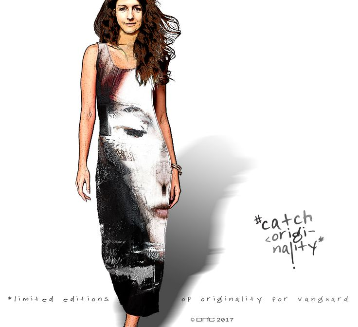 Long dress from CW Mixart collection.