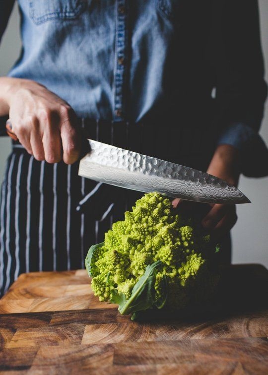 The Vegetable Butcher Shows You How to Break Down Romanesco