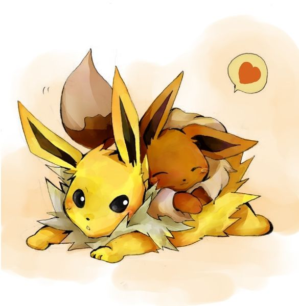 Pokemon Eevee Jolteon Type Normal Jolteon Electric Used In Yellow Evolves Into Jolteon